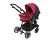Kiddy 46120CC055 Carrycot Babywanne Click'n Move 3, Cranberry