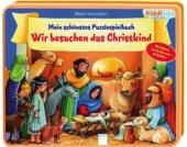 Kiddilight Mein schönstes Puzzlespielbuch - Wir besuchen das Christkind