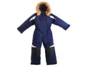 BMS Schneeanzug Skianzug wasserdicht winddicht Gr. 86 blau